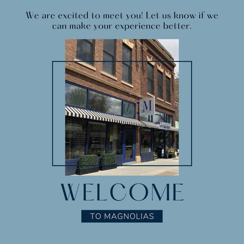 Welcome to magnolias