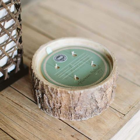 AFTERNOON RETREAT RUSTIC CANDLE #101