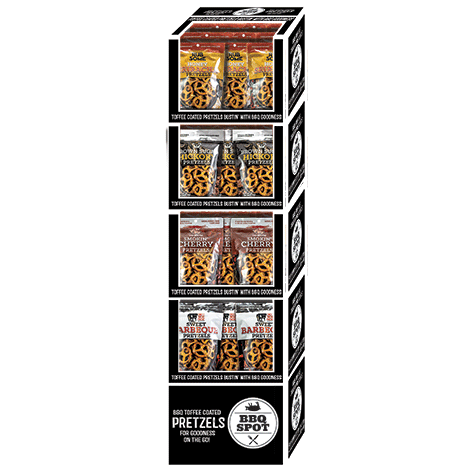 BBQ Spot Pretzel Display Case