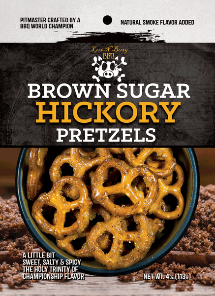 Loot N' Booty Brown Sugar Hickory Pretzels