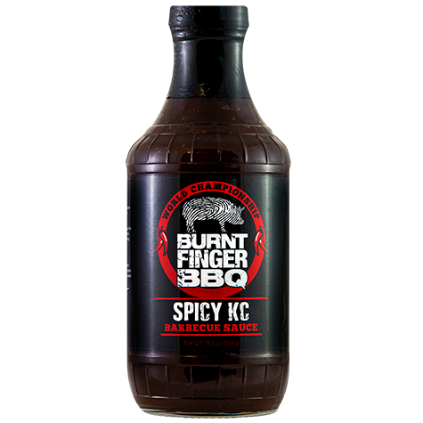 Burnt Finger BBQ Spicy KC Barbecue Sauce