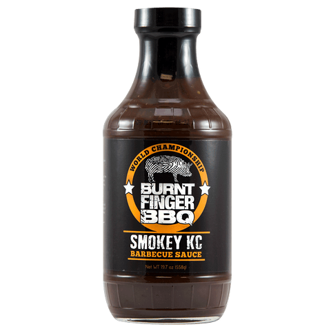 Burnt Finger BBQ Smokey KC BBQ Sauce
