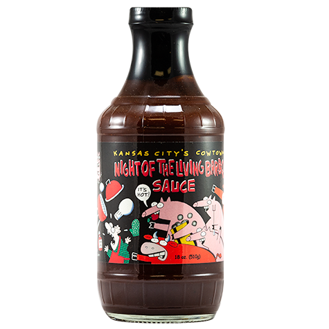 Cowtown Night of the Living Bar-B-Q Sauce