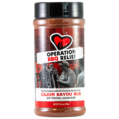 Operation BBQ Relief Cajun Bayou Rub