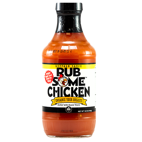 Rub Some Chicken Buffalo Sauce
