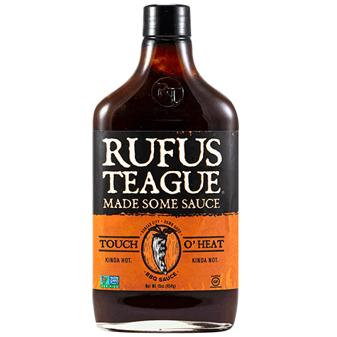 Rufus Teague Touch O' Heat BBQ Sauce