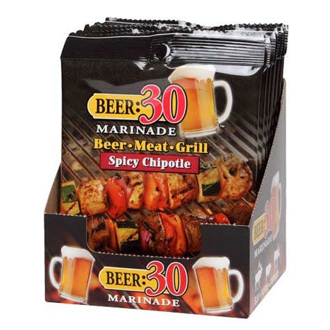 Beer:30 Spicy Chipotle BBQ Marinade