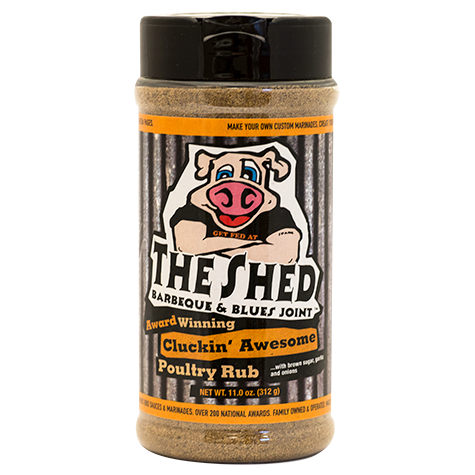 The Shed - Cluckin' Awesome Poultry Rub