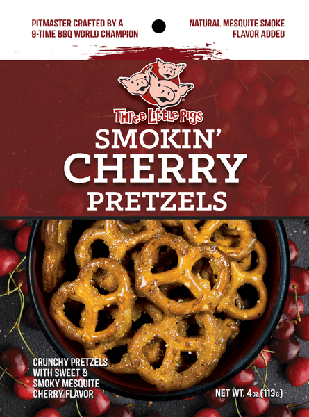 Three Little Pigs Smokin' Cherry Pretzels