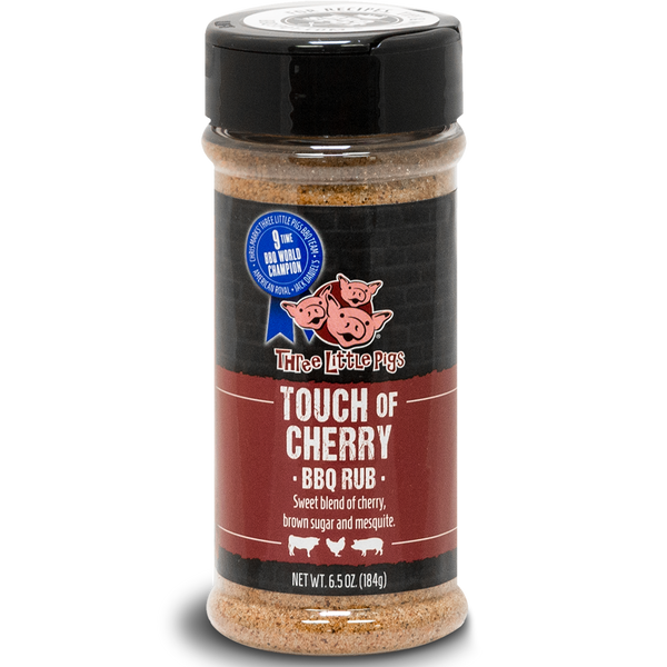 Three Little Pigs Touch of Cherry BBQ Rub