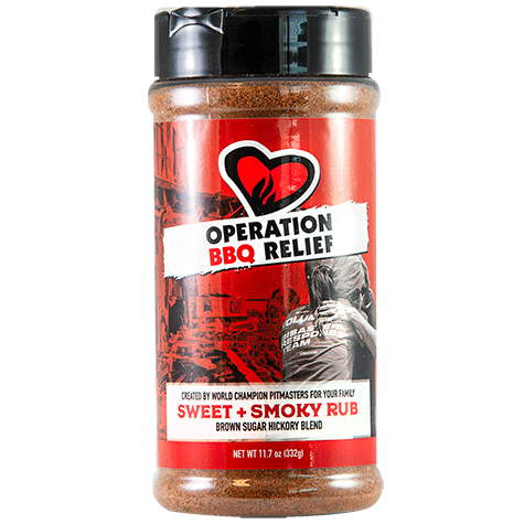 Operation BBQ Relief Sweet and Smoky Rub