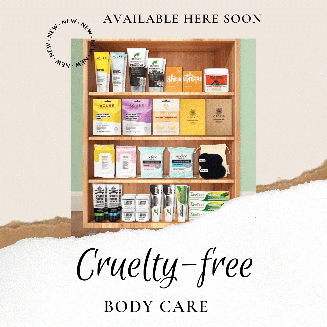 Cruelty Free, Natural Body Care