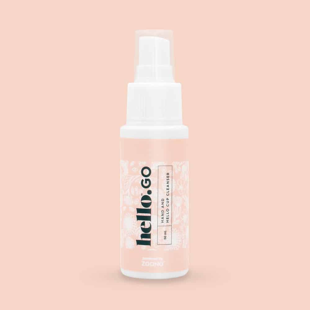 Menstrual Period Cup Cleaning Spray - Hello Go - InnerCity Style & Gifts