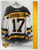 #17 Emil Johansson 2018-19 Game Worn White Jersey
