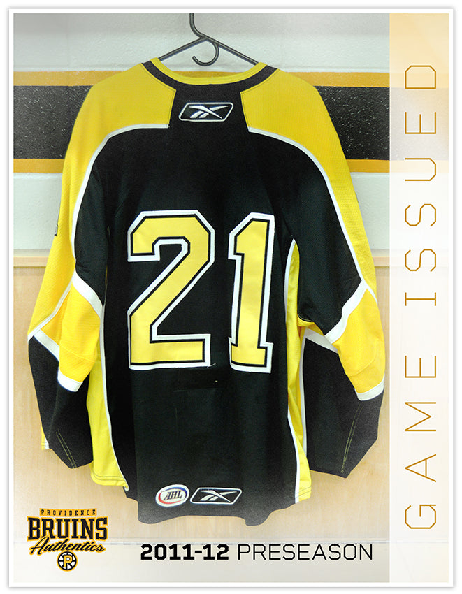 #21 2011-12 Preseason Game Issued Black Jersey