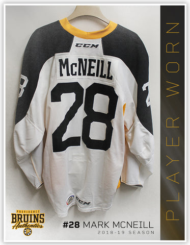 #28 Mark McNeill 2018-19 Warmup Worn Jersey To Benefit Hasbro Children's Hospital