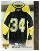 #34 2011-12 Preseason Game Worn Black Jersey