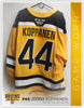 #44 Joona Koppanen 2018-19 Game Worn Gold Jersey