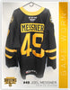 #49 Joel Messner 2018-19 Game Worn Black Jersey