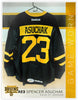 #23 Spencer Asuchak 2016-17 Game Worn Black Jersey