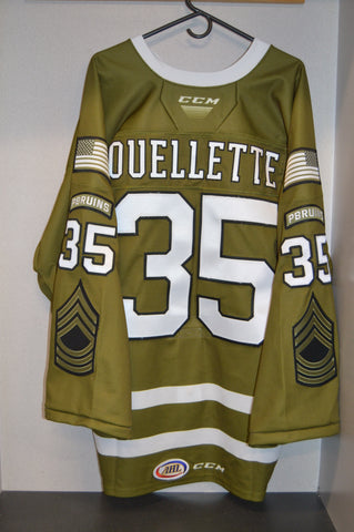 #35 Martin Ouellette 2020 Military Appreciation Weekend Jersey