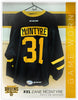 #31 Zane McIntyre 2017-18 Game Worn Black Jersey