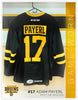 #17 Adam Payerl 2017-18 Game Worn Black Jersey