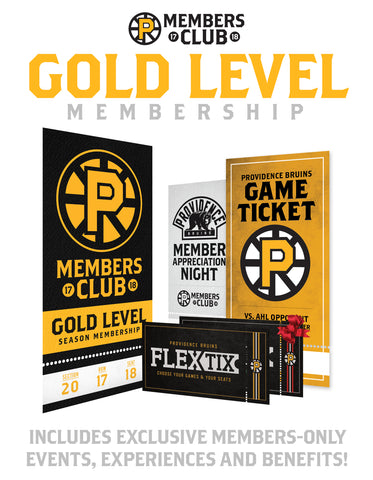 Gold Level Season Membership 17-18