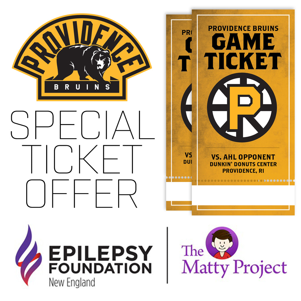 P-Bruins Special Offer: Epilepsy Foundation New England