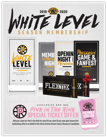 2019-20 Season Membership: White Level