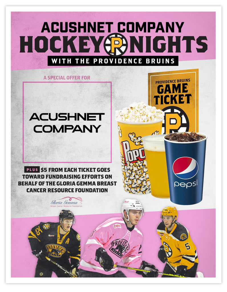 P-Bruins Special Offer: Acushnet Company