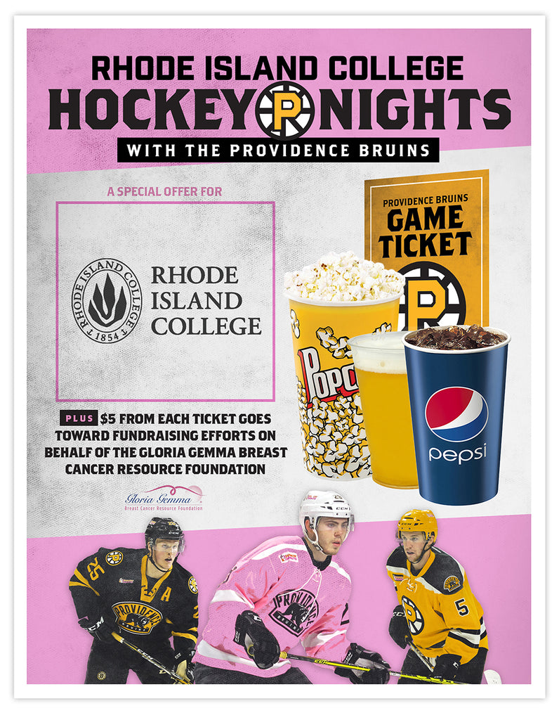 P-Bruins Special Offer: Rhode Island College
