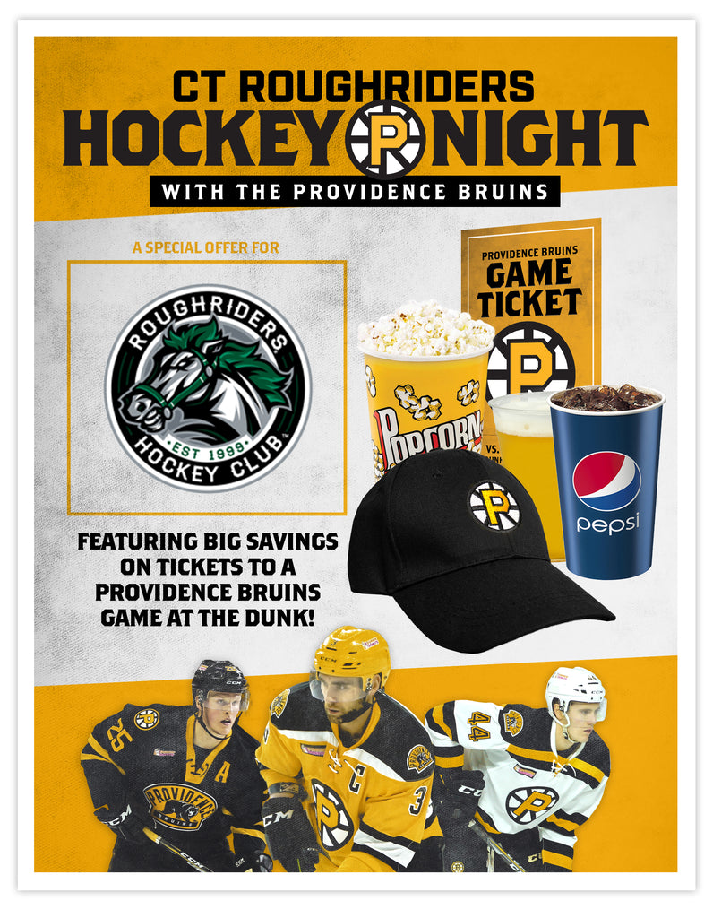 P-Bruins Special Offer: CT Roughriders