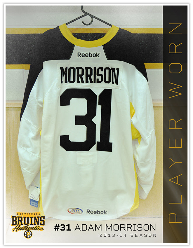 #31 Adam Morrison 2013-14 Warmup Worn Jersey