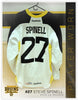#27 Steve Spinell 2013-14 Warmup Worn Jersey