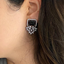 Load image into Gallery viewer, Charlotte Earrings in Black