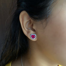 Load image into Gallery viewer, Heart on Sleeve Earrings
