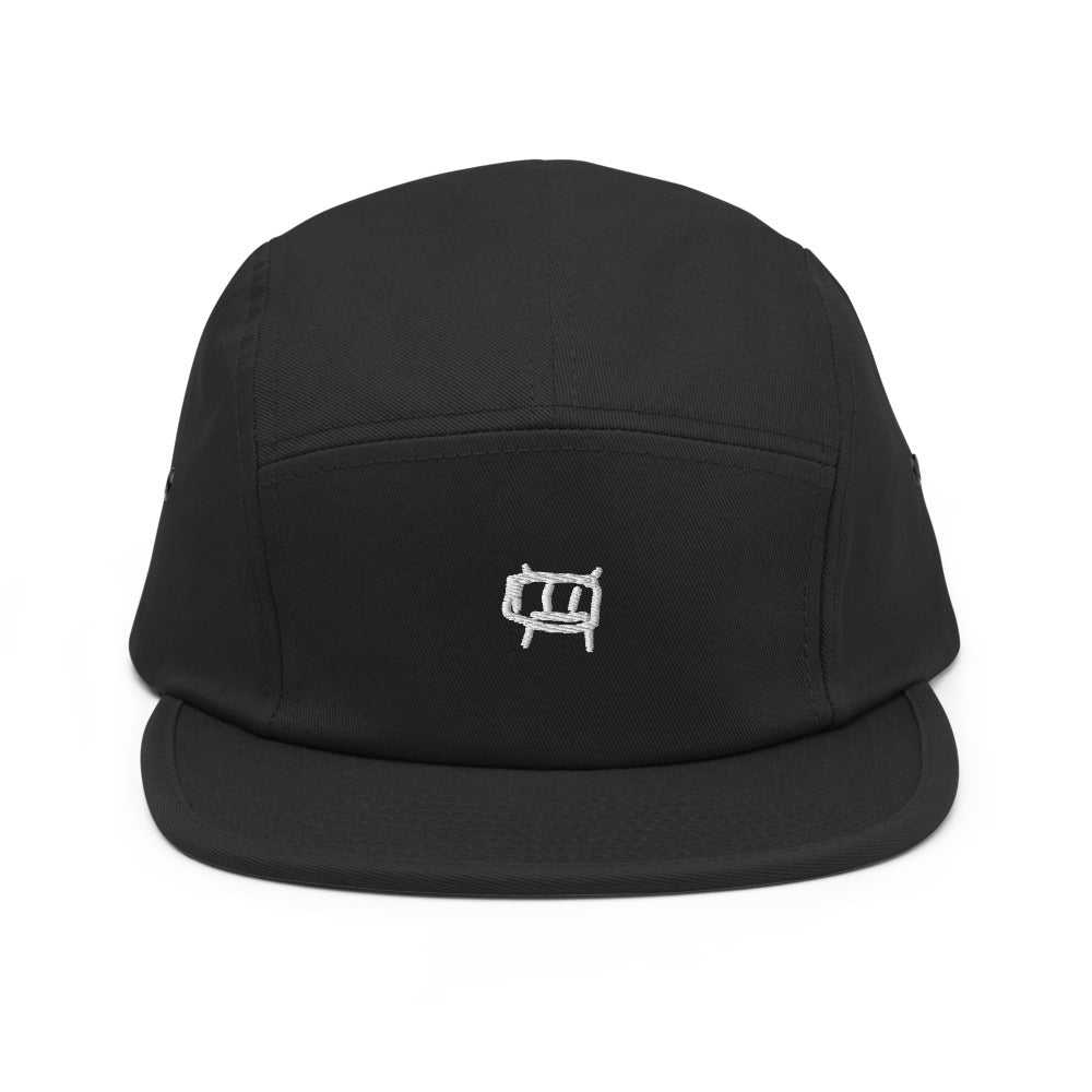 android - embroidered five panel hat