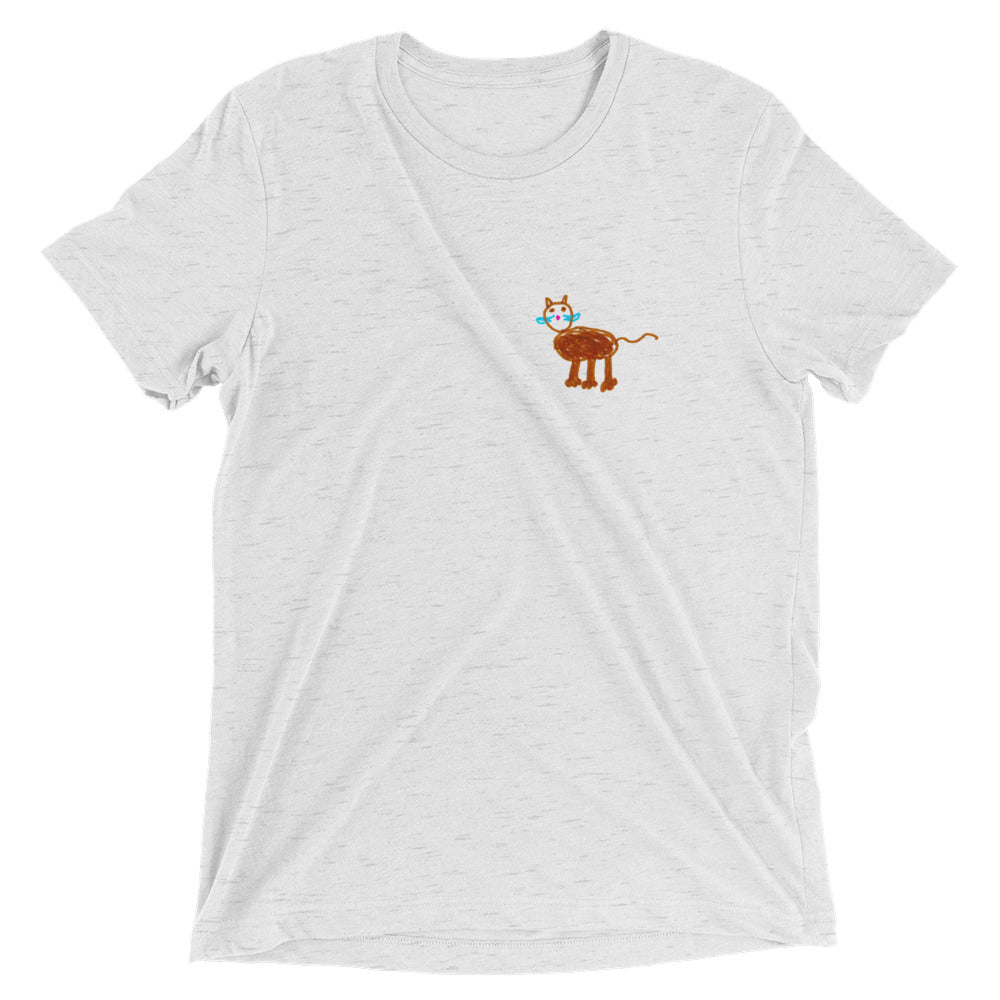 cat - softstyle printed unisex tshirt