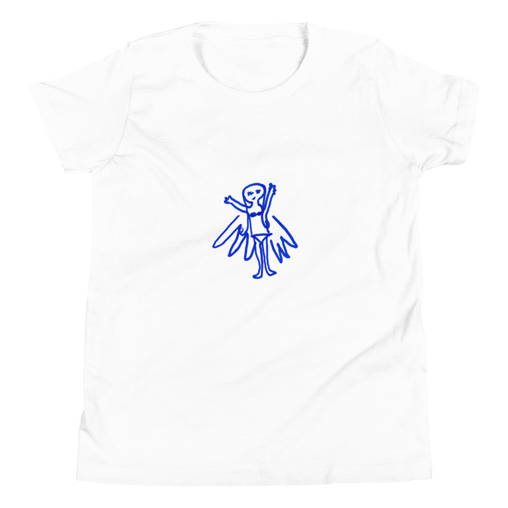 fairy - printed youth tshirt