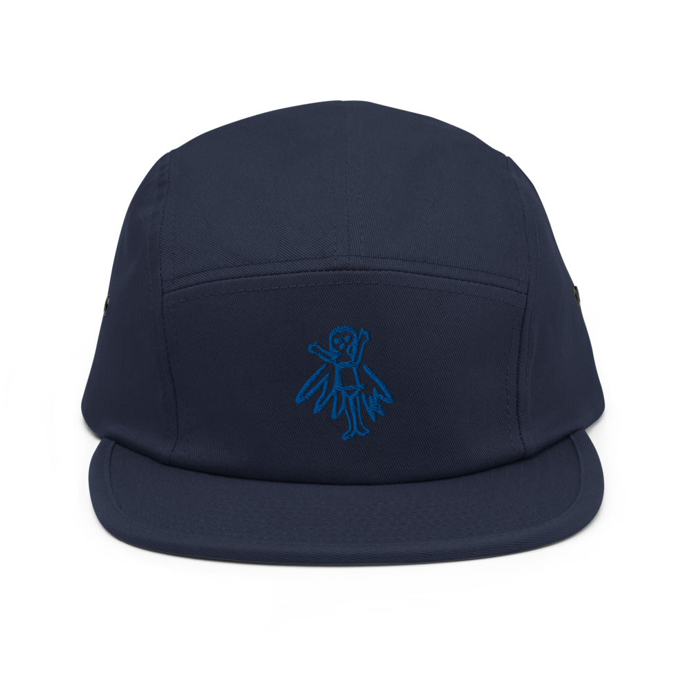 fairy - embroidered five panel hat