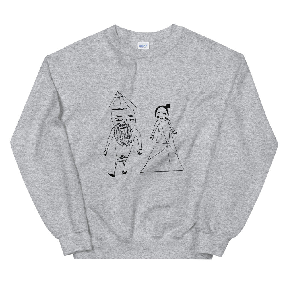 love affair - printed unisex sweatshirt