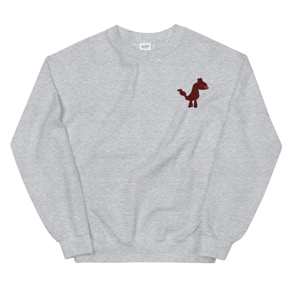 dog xl - embroidered unisex sweatshirt