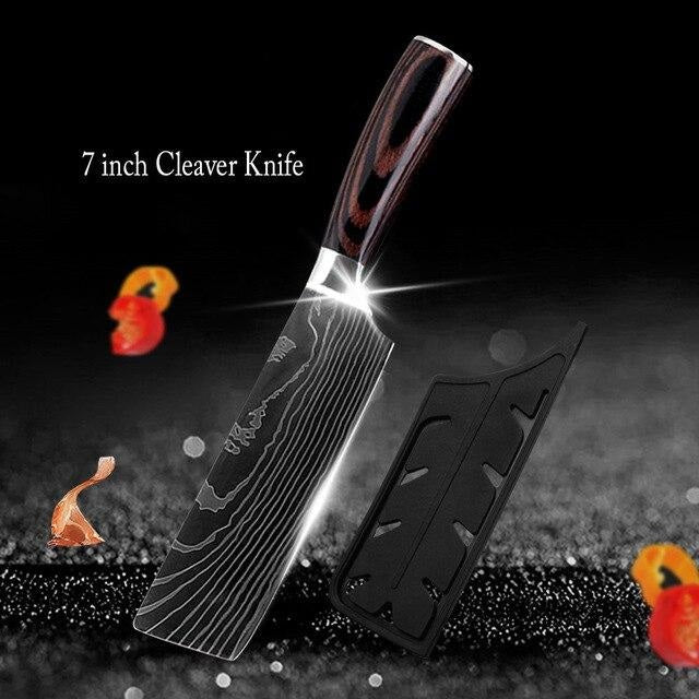 SHARPY Set of Kitchen Knives