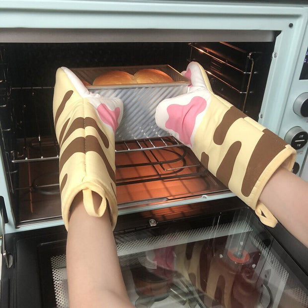 Cat Paws Oven Mitts
