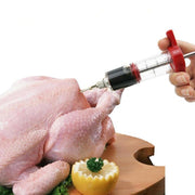 Meat Syringe Marinade Injector For Turkey, Chicken or Beef