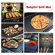 Magical, Non-Sticky Grill Mat For BBQ, Cooking And Baking
