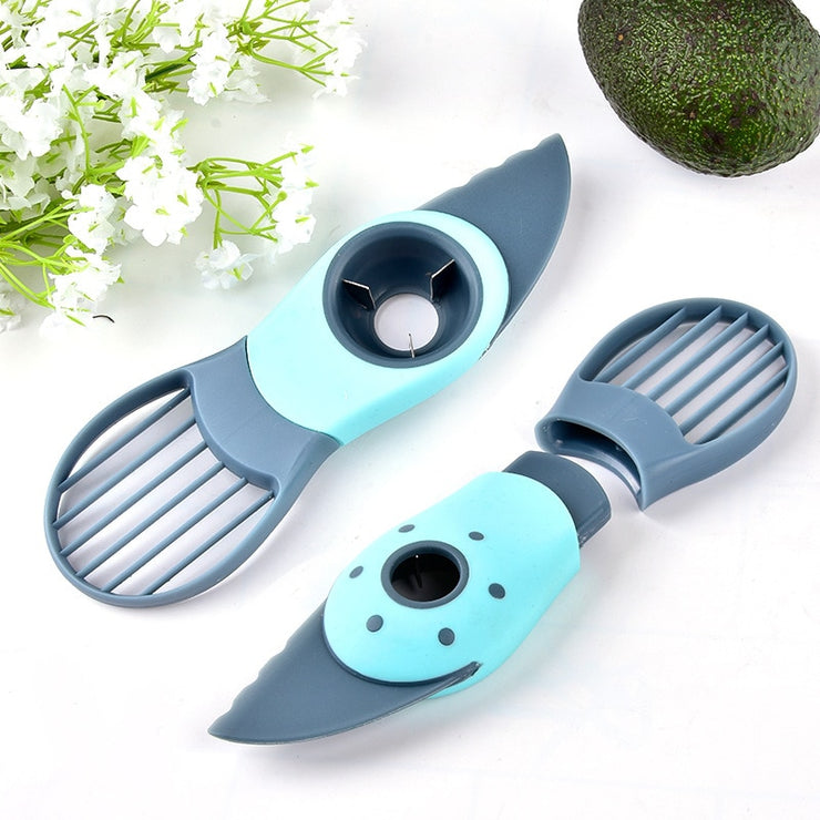 3 in 1 Avocado Slicer - Splitting, Pitting And Slicing