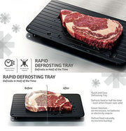 Fast Defrosting Tray - Thaw the Food in Minutes!