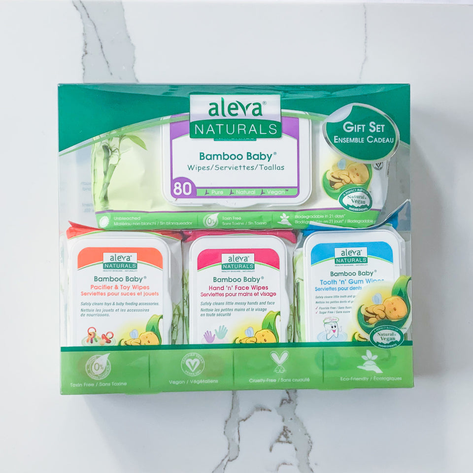 Bamboo Baby Wipes Set